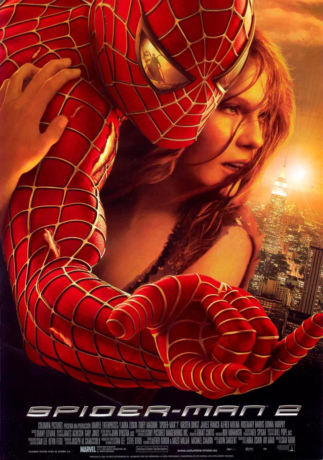 蜘蛛人2 / 蜘蛛俠2線上看
